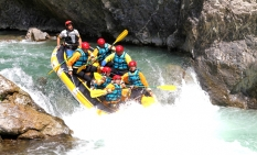 Team Building Rafting Milano