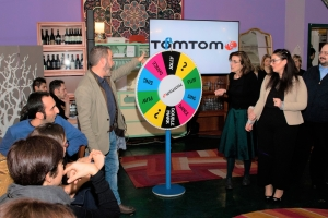 The Wheel of Fortune Team Building